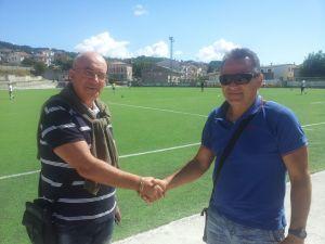 Fernado Sica con Mario Fusaro tecnico della juniores